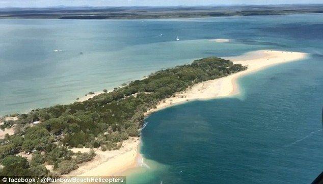 وحشت مردم استرالیا از فرو ریختن ساحل کوئینزلند