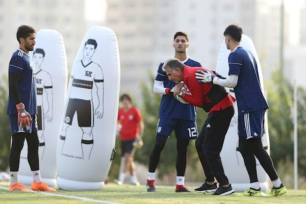 کارلوس کی روش دروازه بان جدید تیم ملی