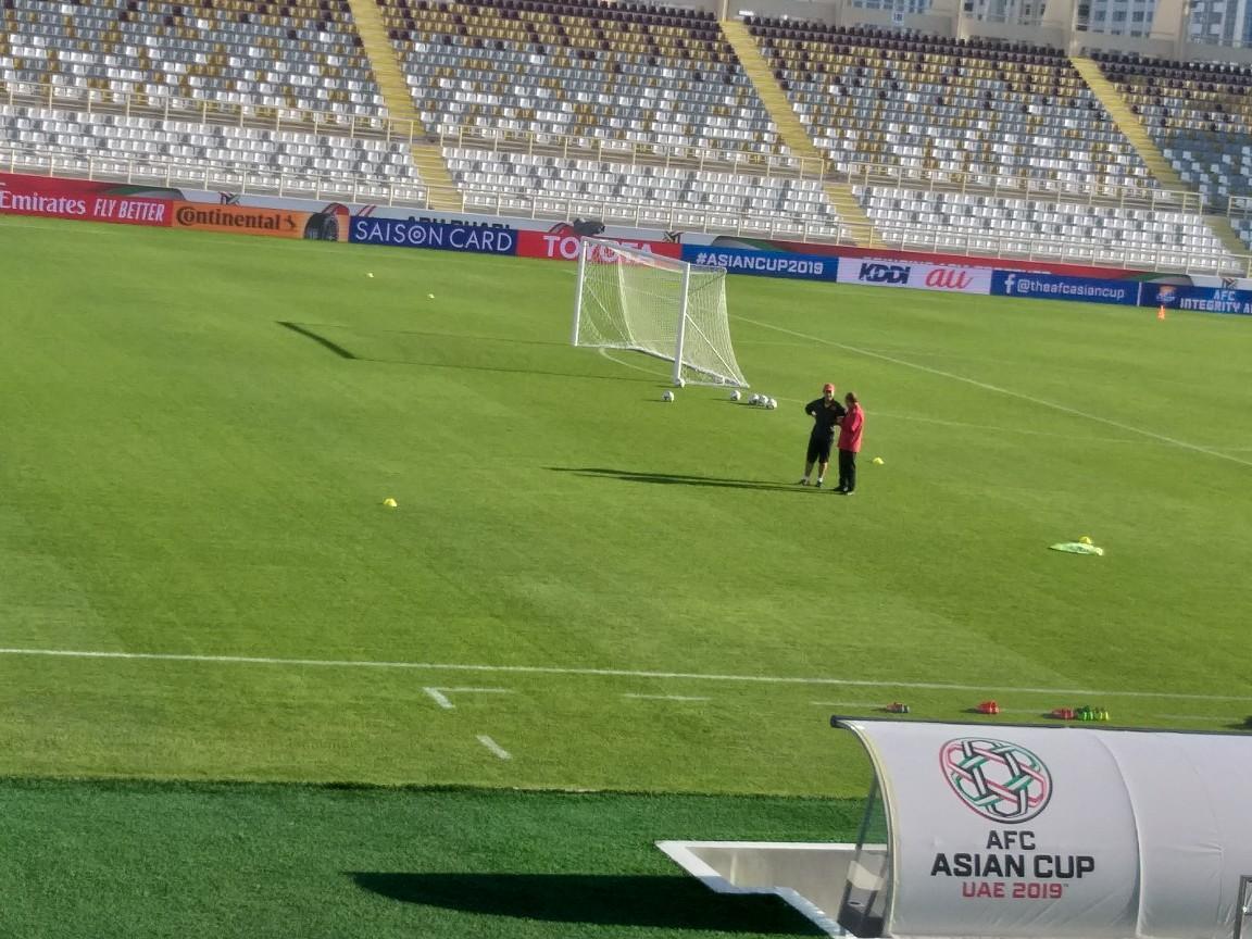 جام ملت های آسیا - 2019؛ آخرین تمرین تیم ملی ویتنام پیش از دیدار مقابل ایران برگزار گردید