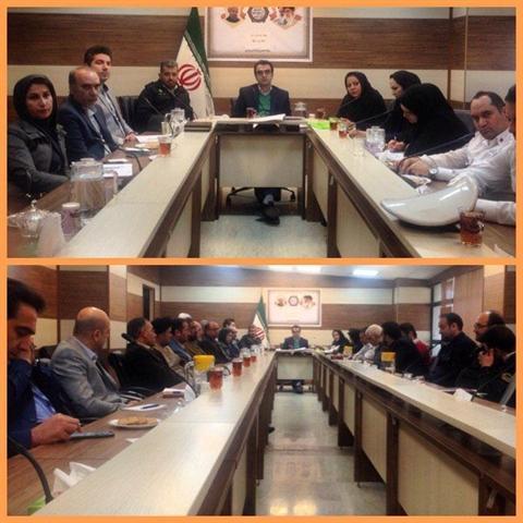 جلسه ستاد خدمات سفر در شهرستان پردیس برگزار گردید