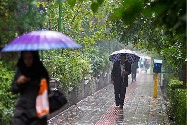 بارش های پراکنده در بعضی نقاط کشور، وضعیت جوی پایتخت