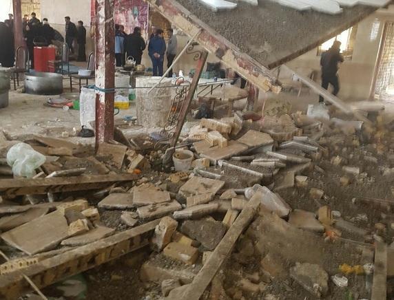 حادثه ریزش سقف در نوبران ساوه