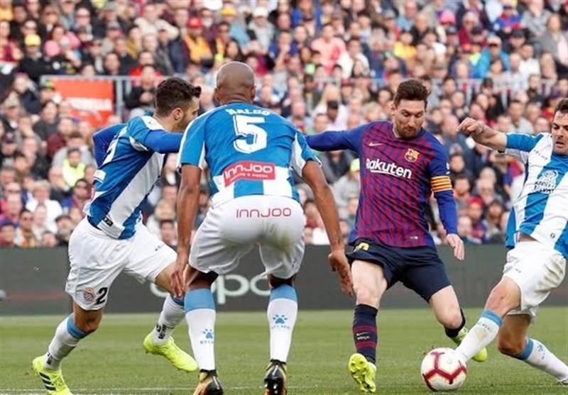 بارسلونا با درخشش مسی فاتح دربی کاتالونیا شد