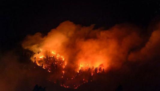 فاجعه بار ترین و ویرانگر ترین آتش سوزی های جهان