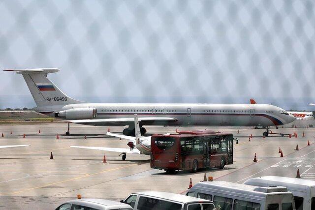 هواپیمای دیگر نیروی هوایی روسیه در ونزوئلا به زمین نشست