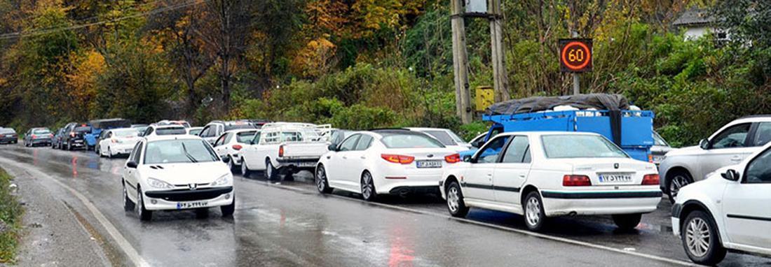 محدودیت های ترافیکی جاده های شمال در تعطیلات خاتمه هفته