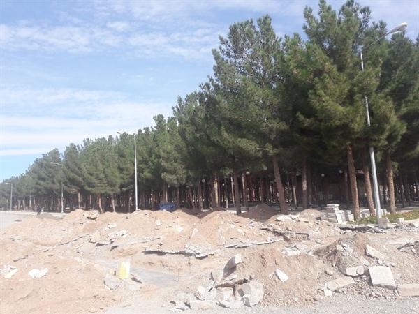 شروع عملیات اجرایی احداث پایگاه اطلاع رسانی گردشگری شهرستان بردسکن