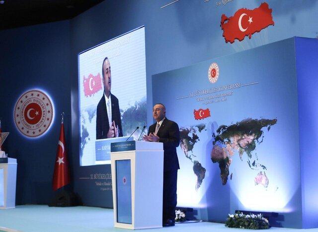چاووش اوغلو: برخی از سازمان های اطلاعاتی خارجی از فتو حمایت می کنند