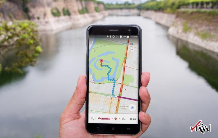 چگونه می توان یک مکان را در گوگل مپس به وسیله کامپیوتر یا تلفن همراه ذخیره کرد؟