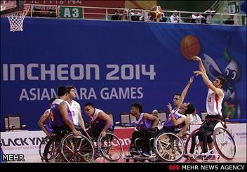 تیم های بسکتبال با ویلچر بانوان و آقایان ایران برنزی شدند