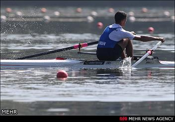 قایقرانان همدانی در اردوی تیم ملی آبهای آرام مردان حاضر شدند