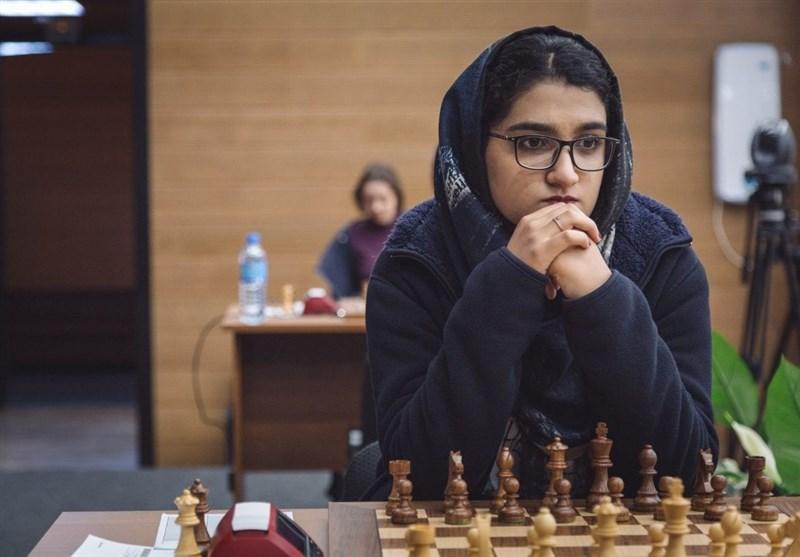 مبینا على نسب نایب قهرمان شطرنج جوانان دنیا شد