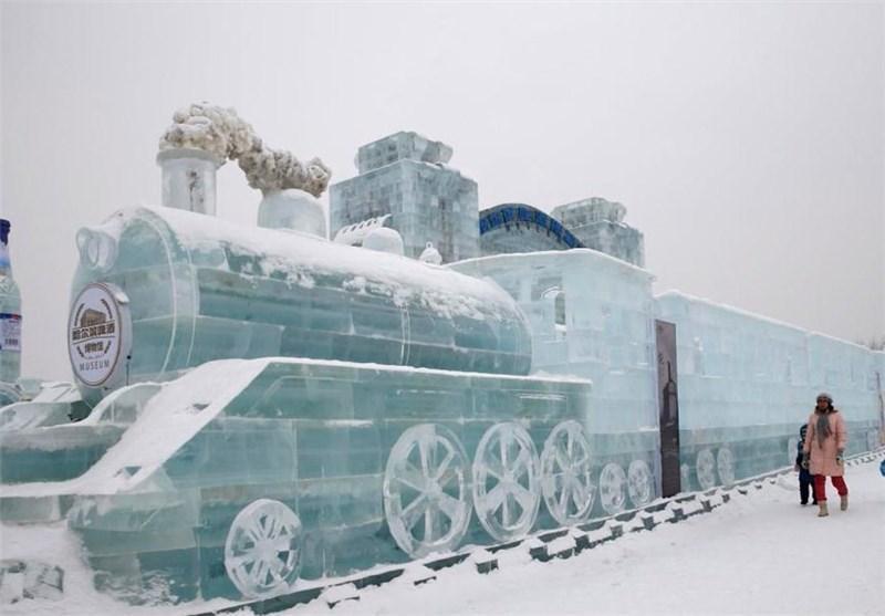 تصاویر جشنواره مجسمه های یخی در چینl◉l