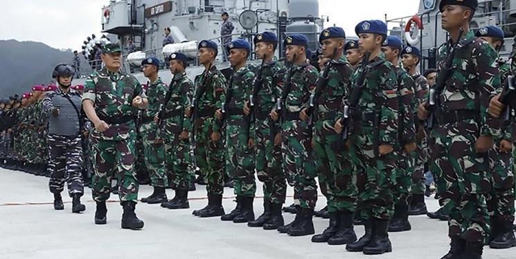 استقرار جنگنده های اندونزی در دریای چین جنوبی