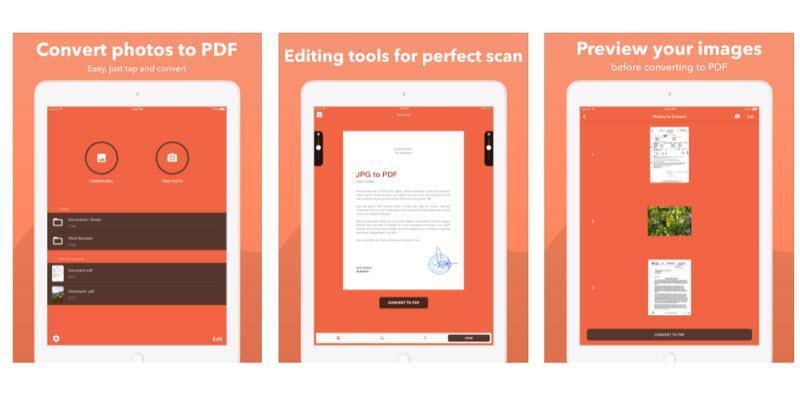تبدیل آسان و سرراست عکس ها به فایل PDF با اپلکیشن Photos to Pdf