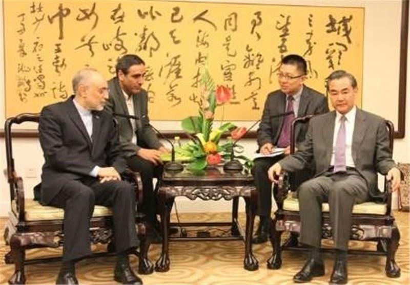 ملاقات صالحی با وزیر خارجه چین