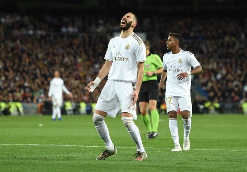 لالیگا، رئال مادرید با یک تساوی خانگی از بارسلونا عقب افتاد