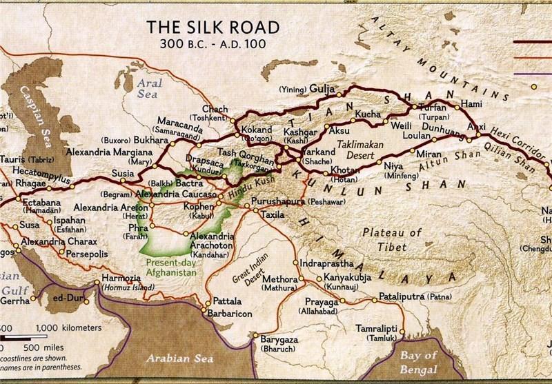 پیشنهاد چین برای احداث خط ریلی سریع السیر در راستا جاده ابریشم