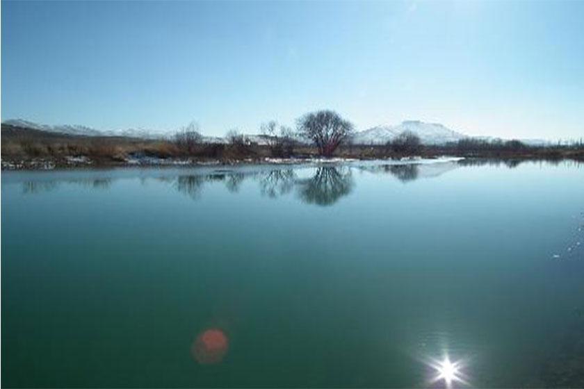 بارش های زمستانی و پر آب شدن رودخانه سیمینه رود بوکان