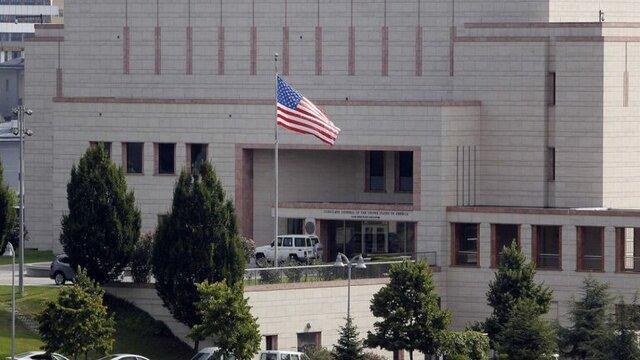 خروج کارکنان غیرنظامی سفارت آمریکا در بغداد