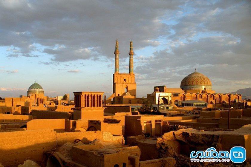 جاهای دیدنی یزد ، معماری های شگفت انگیز زیباترین شهر خشتی دنیا