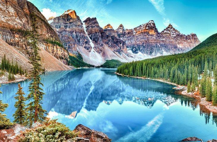 محبوب ترین پارک ملی کانادا در بنف