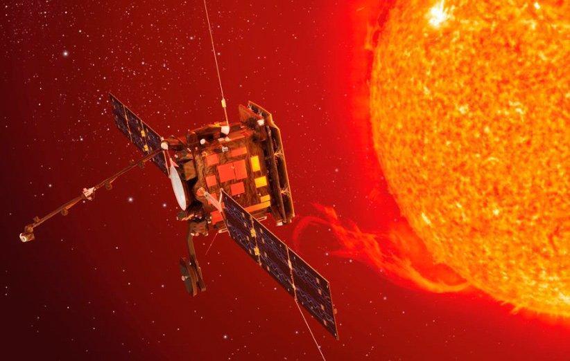 اولین نگاه بشر به قطب های خورشید در ماموریت مدارگرد خورشیدی