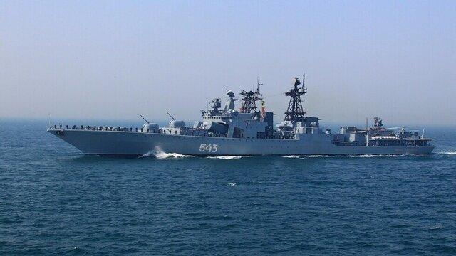 حرکت ناوهای موشک انداز روسیه به سمت سواحل سوریه