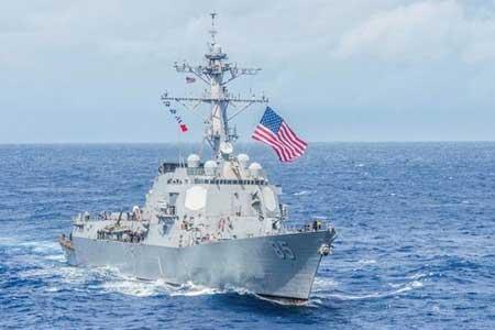 هشدار ارتش چین به کشتی های نظامی آمریکا