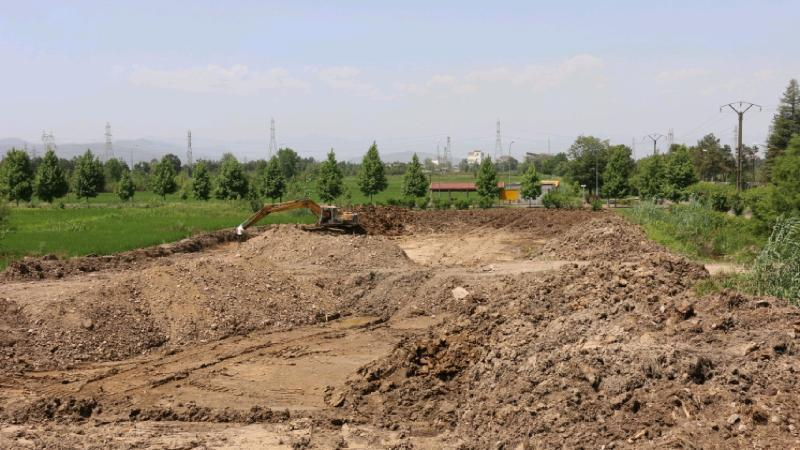 عملیات ساختمانی مرکز توسعه نوآوری و فناوری دانشگاه گیلان شروع شد