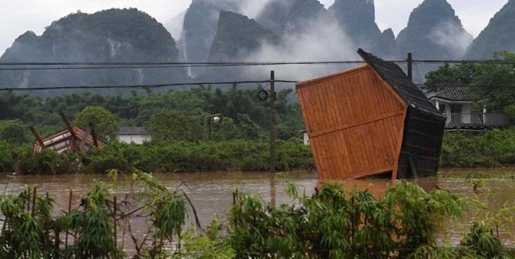 سیل در جنوب چین ده ها کشته و مفقود بر جا گذاشت