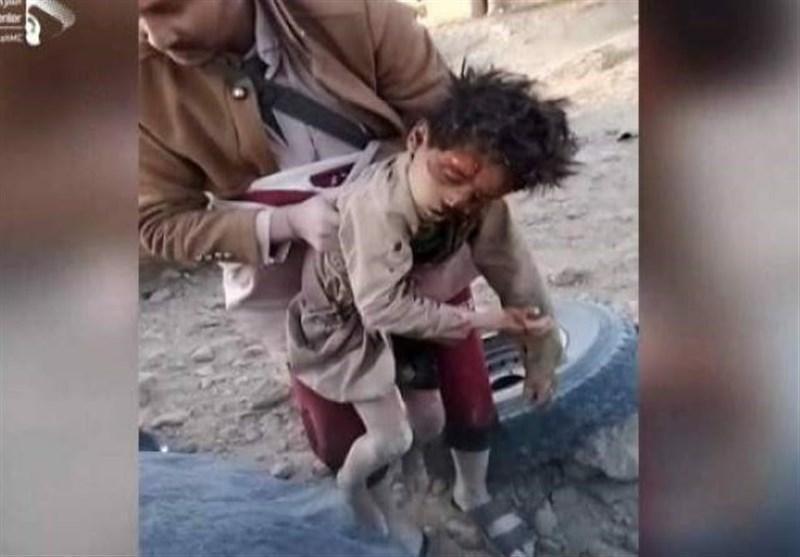 بمباران چند استان یمن توسط جنگنده های متجاوز سعودی-آمریکایی، ثبت 65 مورد نقض توافق آتش بس توسط مزدوران سعودی