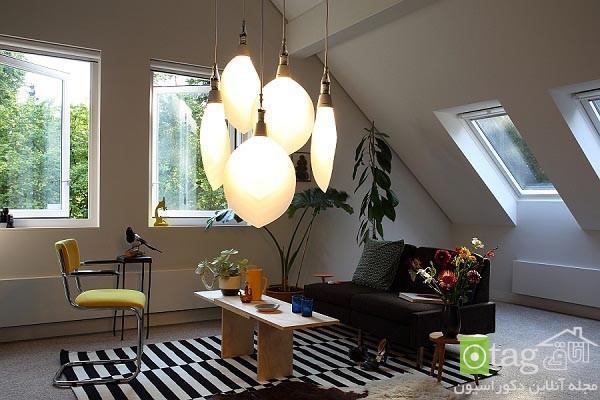 ایده های جالب و زیبا برای انتخاب لامپ اتاق های خانه