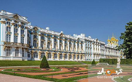 اتاق کهربای کاخ کاترین؛از عجیب ترین جاذبه های روسی، عکس