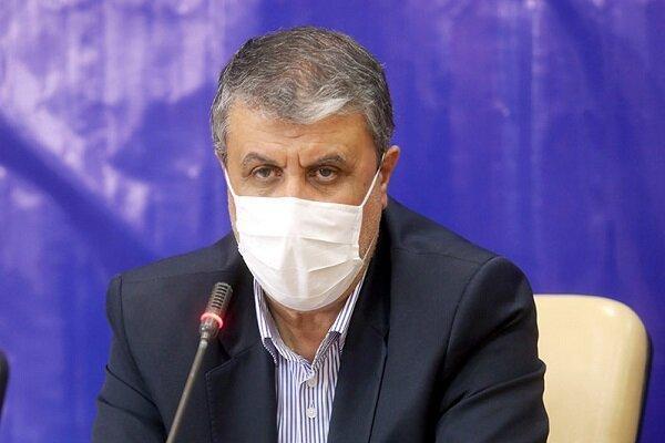 اسلامی: آماده انتقال واکسن کرونا از کشورهای مبدا هستیم