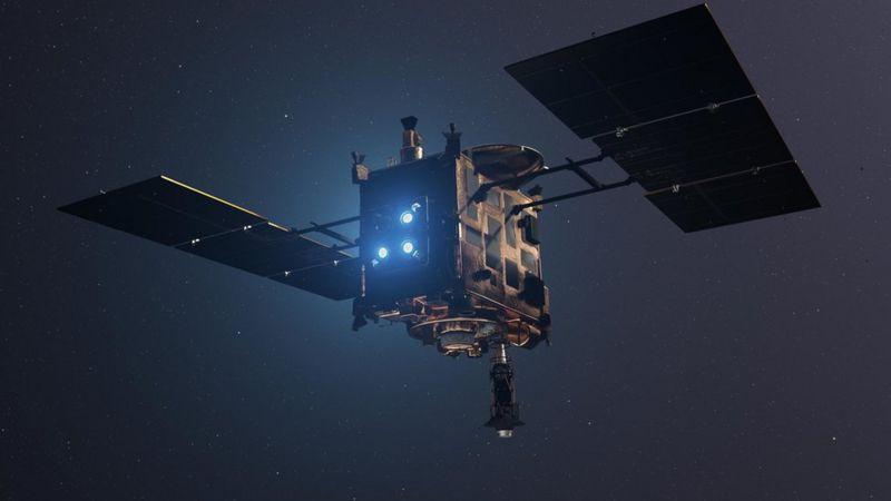 نمونه&zwnjهای سیارک ریوگو به زمین رسید