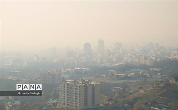 تهران به مدت سه روز دچار پدیده مه دود شد