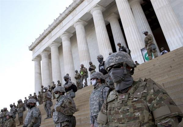 توصیه برای تشدید تدابیر امنیتی در اطراف ساختمان کنگره آمریکا
