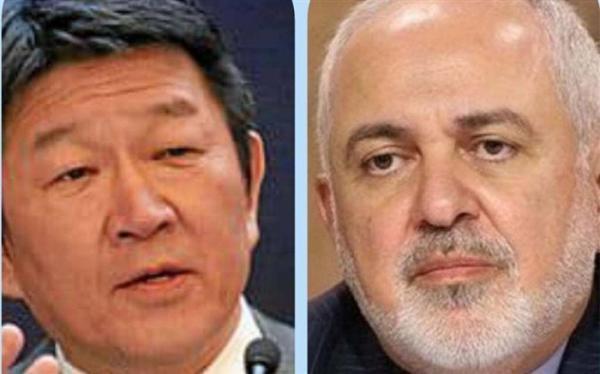 وزیران خارجه ایران و ژاپن آخرین تحولات بین المللی را بررسی کردند