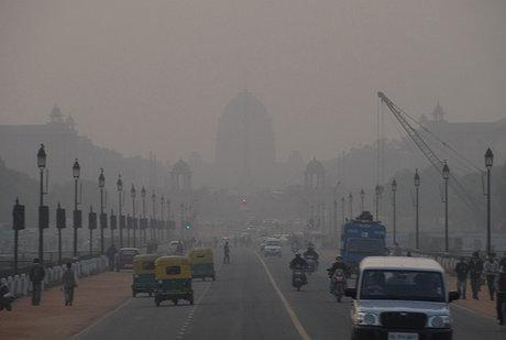 دهلی نو آلوده ترین پایتخت دنیا شد