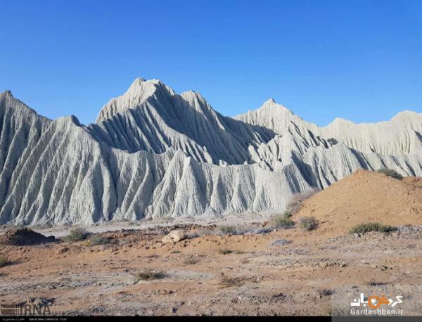 کوه های مینیاتوری چابهار؛ تماشای مریخ در کنار دریای جنوب، عکس