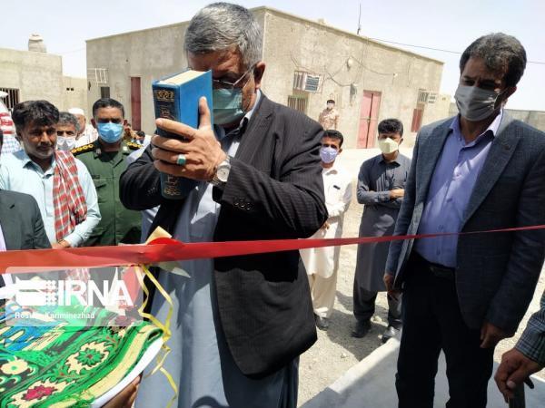 خبرنگاران 34 واحد مسکن محرومان در بخش پلان چابهار به بهره برداری رسید