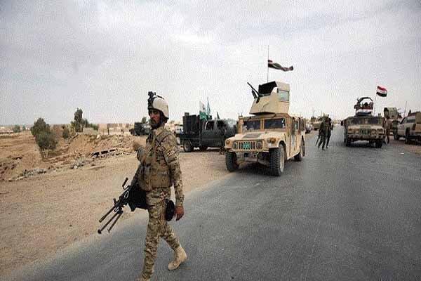عملیات ارتش عراق برای تعقیب بقایای داعش در دیالی