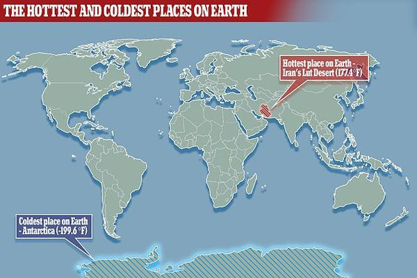 نتایج آخرین تحقیقات: کویر لوت ایران؛ گرم ترین نقطه زمین