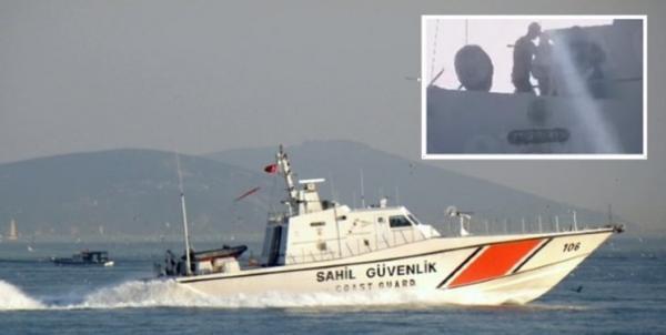 مزاحمت قایق نظامی ترکیه برای شناور یونانی در آستانه ملاقات سران دو کشور
