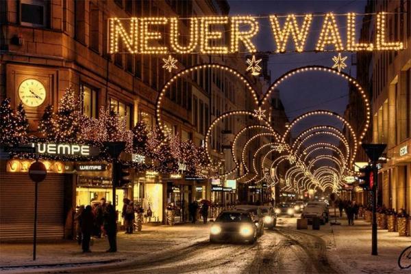 تجربه خرید در خیابان های بی نظیر هامبورگ، عکس