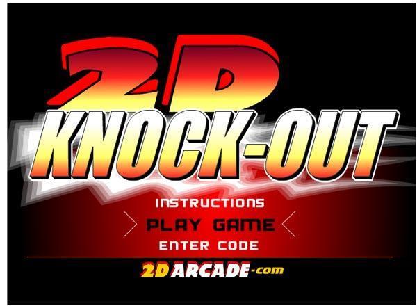 بازی 2D Knock Out