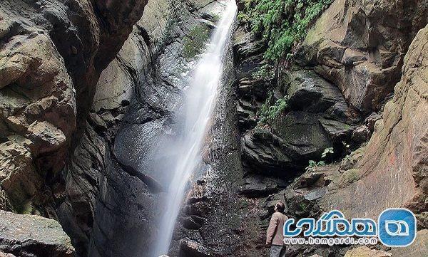 آبشار هلی دره چالوس در فهرست آثار ملی طبیعی به ثبت رسید