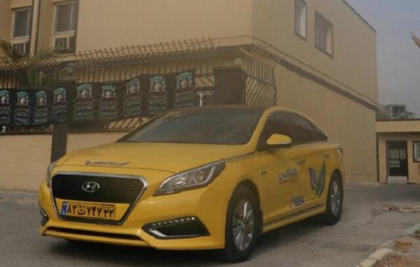 ورود اولین تاکسی های هیبریدی به ناوگان تاکسیرانی بندرعباس