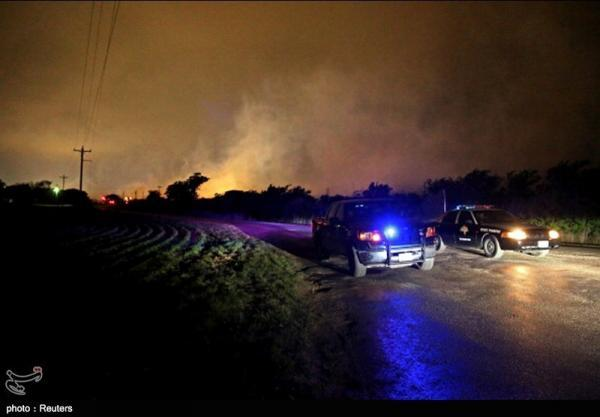 تور روسیه ارزان: سقوط یک فروند هواپیمای نظامی آمریکا در منطقه مسکونی تگزاس